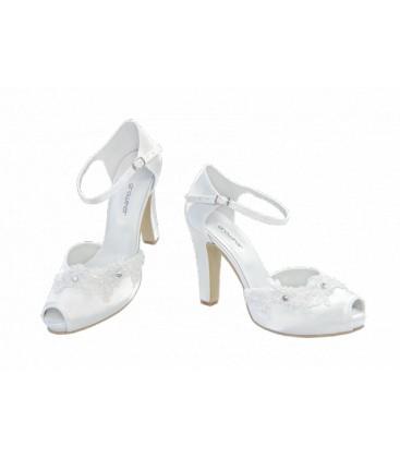 5095a573c1c5 Svadobné topánky na platforme GROWIKAR 251