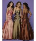 Dlhé korzetové spoločenské šaty 0040