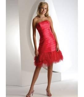 Krátke korzetové spoločenské šaty 0164