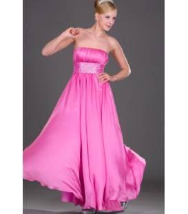 Dlhé spoločenské šaty bez ramienok 108316